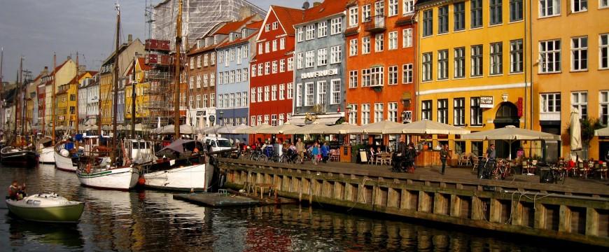 Dánský kanál v Kodani
