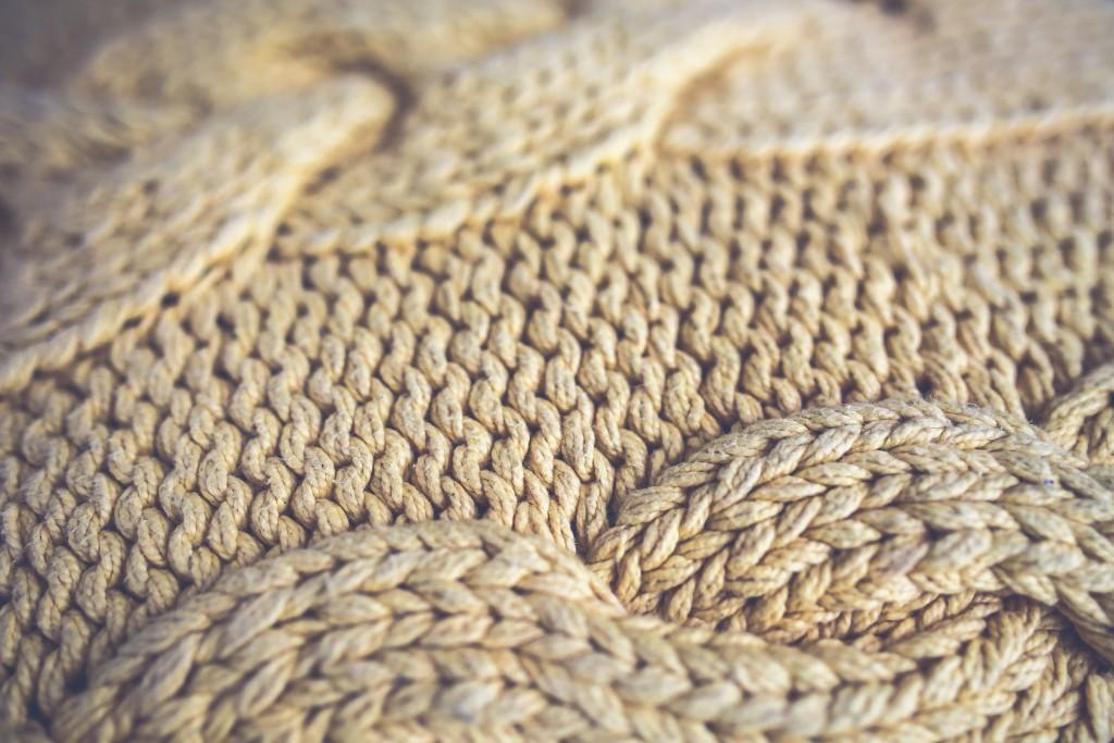 Detail svetru